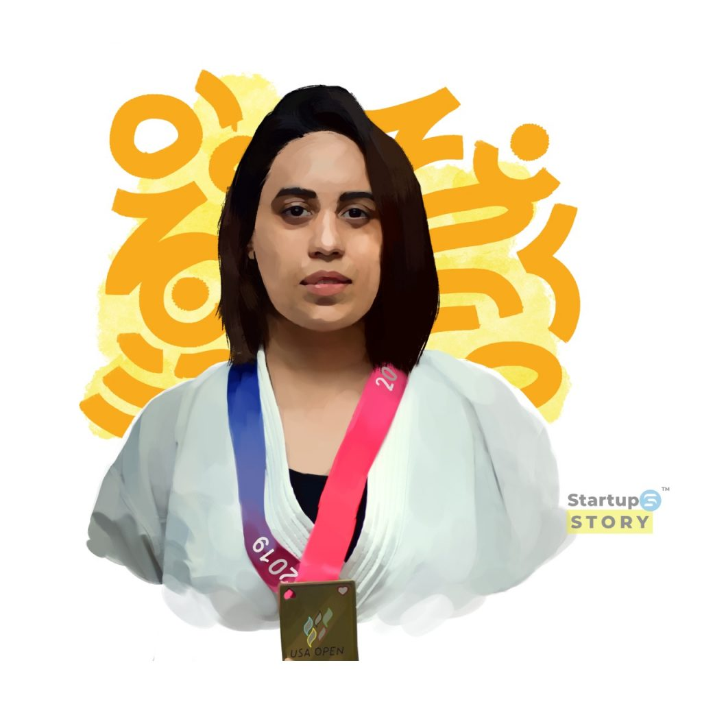 Supriya Jatav with medal