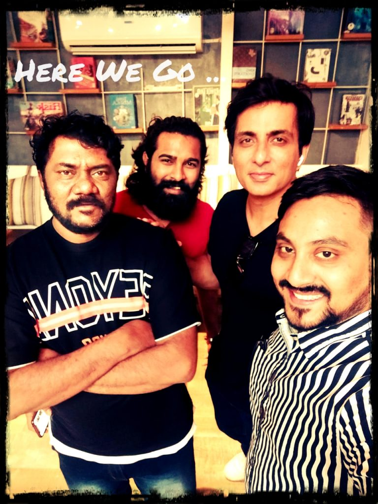 All co-founders of kuberans house with sonu sood