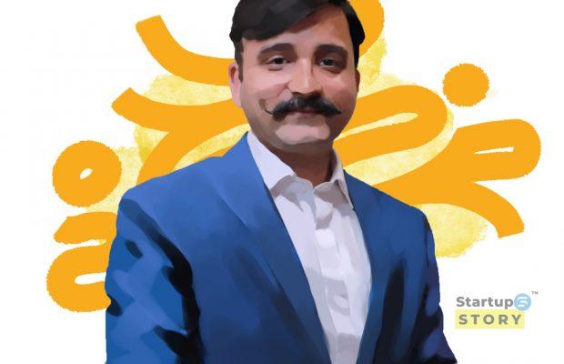 Sandesh founder bima garage startup story media